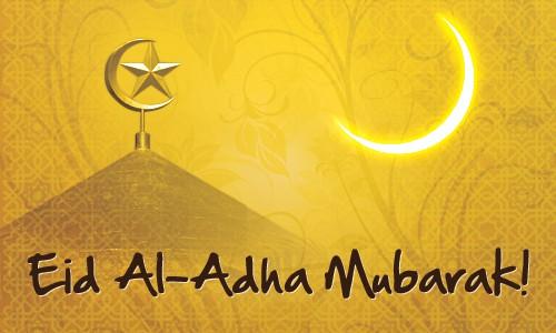 How many weeks until Eid-al-Adha 2017?