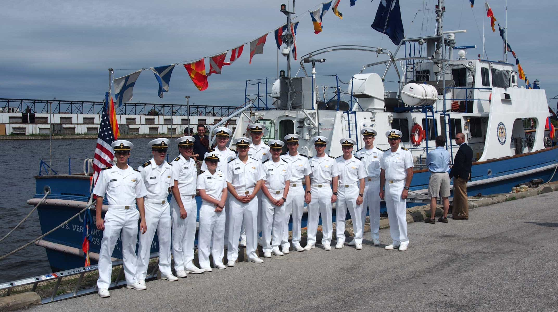 American Navy Officers